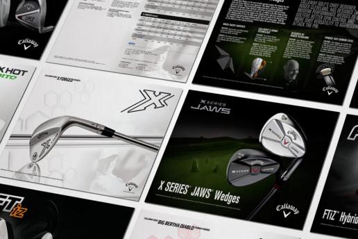 Callaway Sell Sheets Brand Strategy Marketing Campaign Brand Design Boldfish