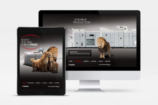Canon Join the Pride Website Brand Strategy Marketing Campaign Brand Design Boldfish