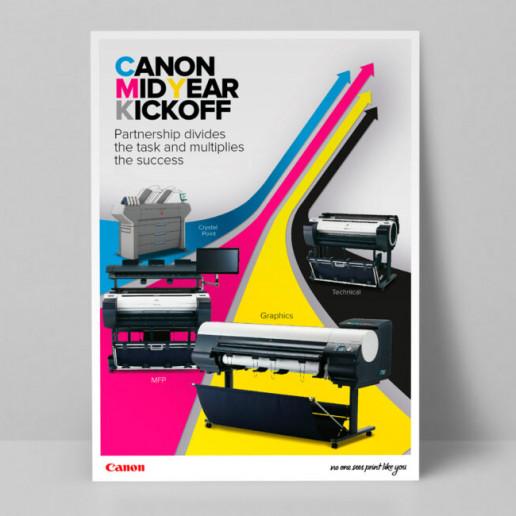 Canon CMYK Poster Brand Strategy Marketing Campaign Brand Design Boldfish
