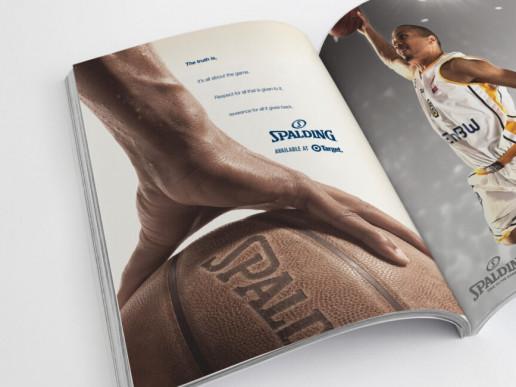 Spalding Advert Brand Strategy Marketing Campaign Brand Design Boldfish