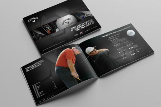 Callaway Golf Catalogue Design Brand Strategy Marketing Campaign Brand Design Boldfish