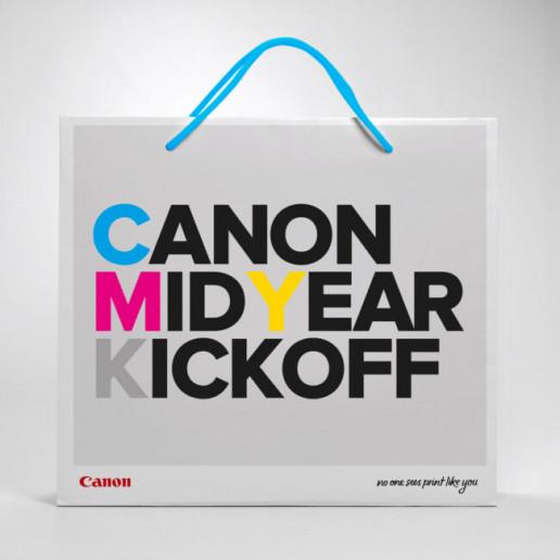 Canon CMYK Show Bag Design Brand Strategy Marketing Campaign Brand Design Boldfish