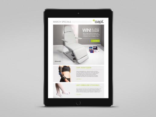 OAPL EDM Design Brand Strategy Marketing Campaign Brand Design Boldfish