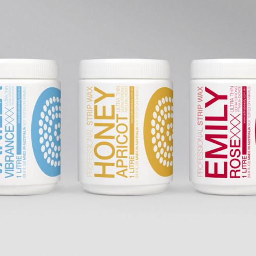 Adina Wax Bottle Labels Brand Strategy Marketing Campaign Brand Design Boldfish
