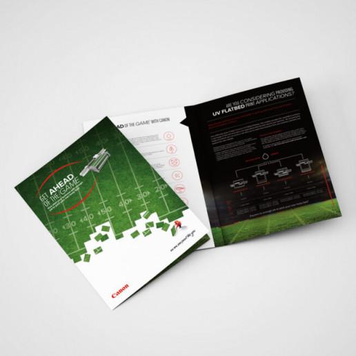 Canon Brochure Design Brand Strategy Marketing Campaign Brand Design Boldfish