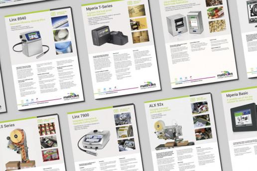 Matthews Data Sheets Brand Strategy Marketing Campaign Brand Design Boldfish