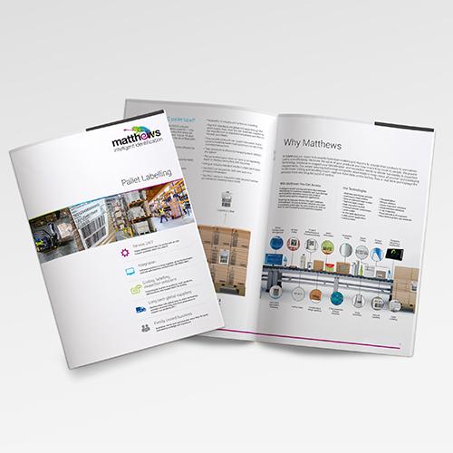 Matthews Brochure Design Brand Strategy Marketing Campaign Brand Design Boldfish