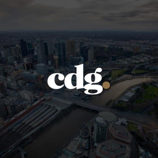 CDG Logo Design Brand Strategy Marketing Campaign Brand Design Boldfish