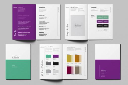 Atticus Styleguide Brand Strategy Marketing Campaign Brand Design Boldfish