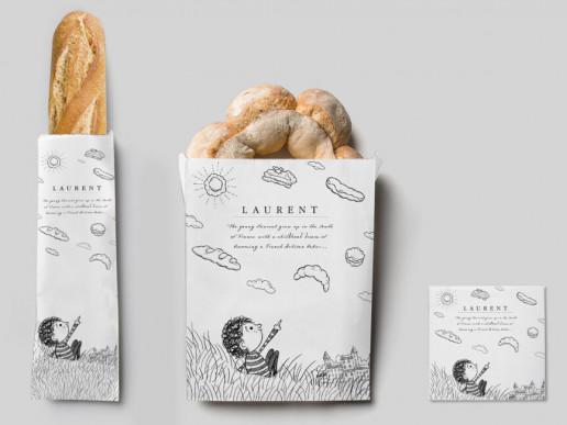 Laurent Cartoon Bags Brand Strategy Marketing Campaign Brand Design Boldfish