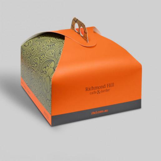 Richmond Hill Cake Box Packaging Brand Strategy Marketing Campaign Brand Design Boldfish