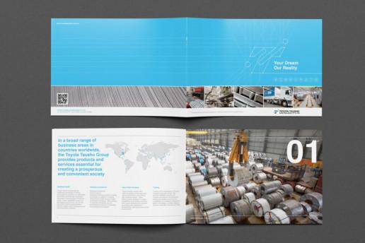 Toyota Tsusho Brochure Brand Strategy Marketing Campaign Brand Design Boldfish