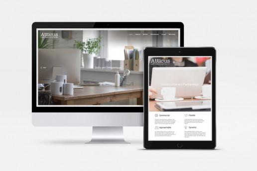 Atticus Website Design Brand Strategy Marketing Campaign Brand Design Boldfish