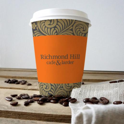 Richmond Hill Coffe Cup Brand Strategy Marketing Campaign Brand Design Boldfish