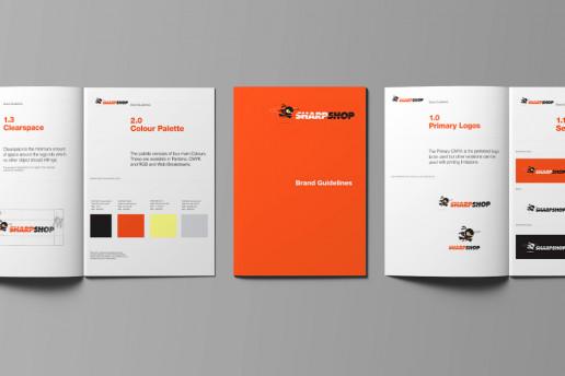 Sharpshop Brand Guidelines Brand Strategy Marketing Campaign Brand Design Boldfish
