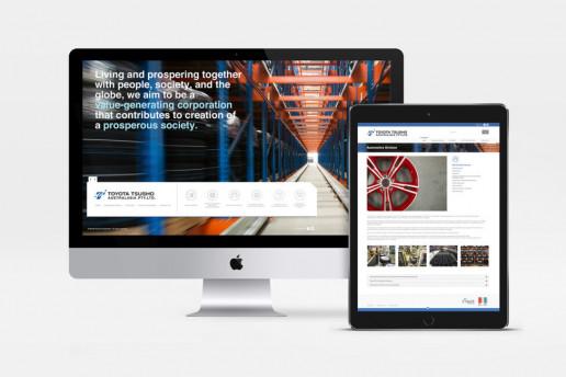Toyota Tsusho Website Brand Strategy Marketing Campaign Brand Design Boldfish