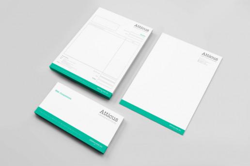 Atticus Stationery Brand Strategy Marketing Campaign Brand Design Boldfish