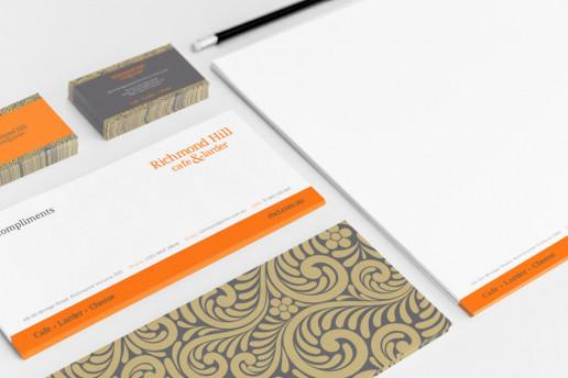 Richmond Hil Stationery Brand Strategy Marketing Campaign Brand Design Boldfish