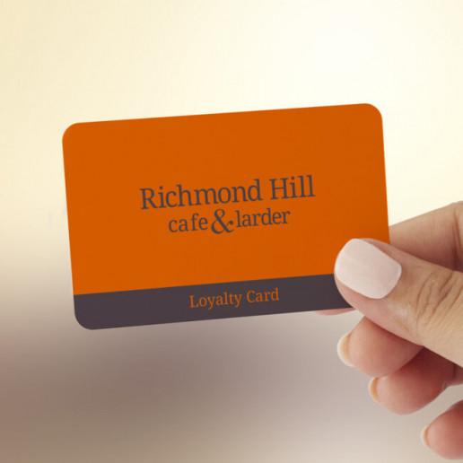 Richmond Hill Loyalty Card Brand Strategy Marketing Campaign Brand Design Boldfish