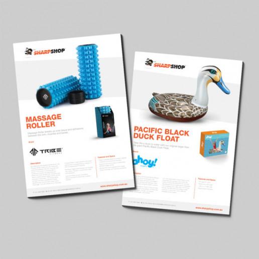 Sharpshop Flyers Brand Strategy Marketing Campaign Brand Design Boldfish