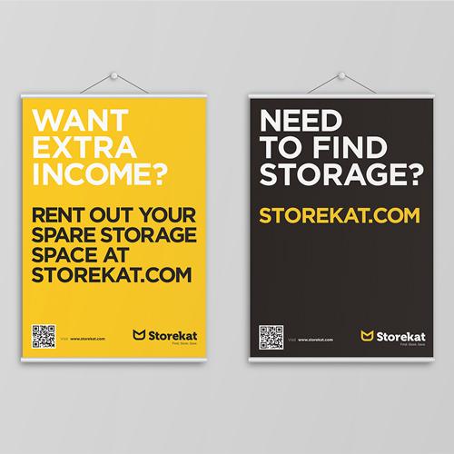 Storekat Posters Brand Strategy Marketing Campaign Brand Design Boldfish