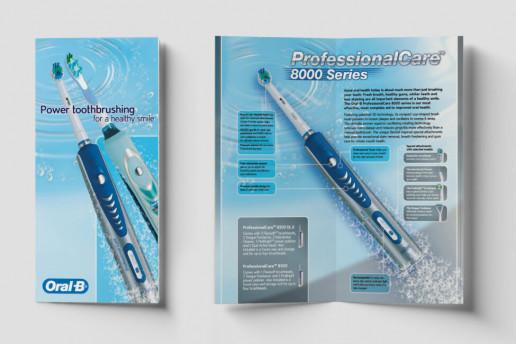 Oral B DL Brochure Brand Strategy Marketing Campaign Brand Design Boldfish