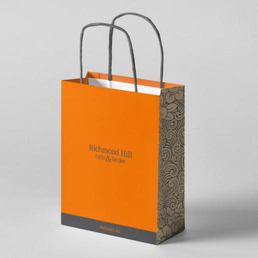 Richmond Hill Shopping Bag Brand Strategy Marketing Campaign Brand Design Boldfish