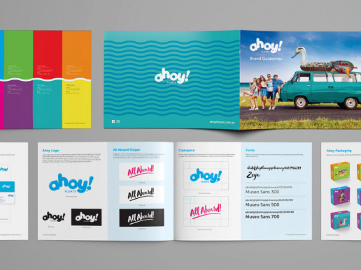 Ahoy Floats Styleguide Brand Strategy Marketing Campaign Brand Design