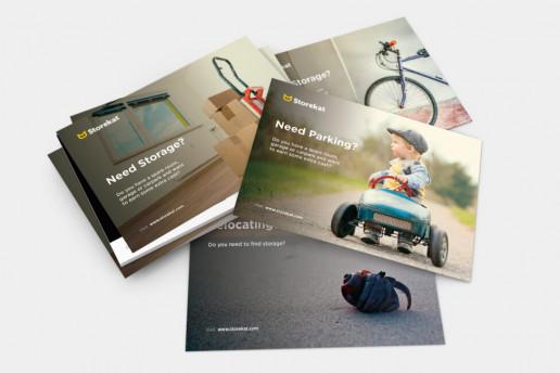 Storekat Flyers Brand Strategy Marketing Campaign Brand Design Boldfish
