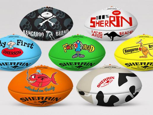 Sherring Football Graphics Brand Strategy Marketing Campaign Brand Design