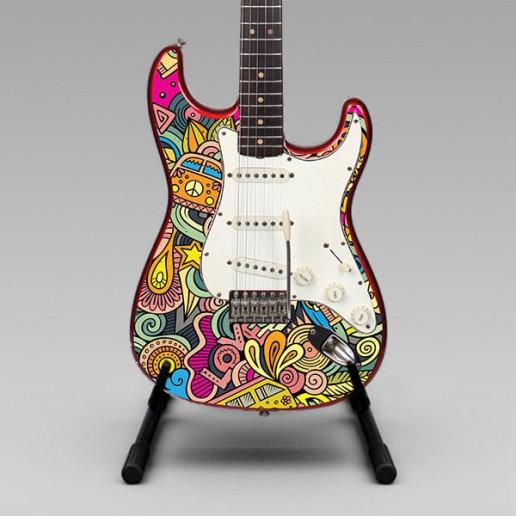 Océ CEC Guitar Graphics Brand Strategy Marketing Campaign Brand Design