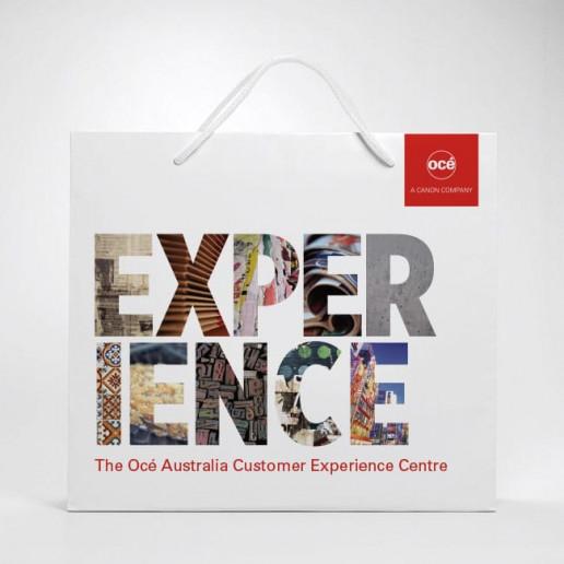Océ CEC Show Bag Brand Strategy Marketing Campaign Brand Design