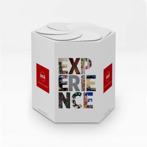 Océ CEC Candy Box Brand Strategy Marketing Campaign Brand Design
