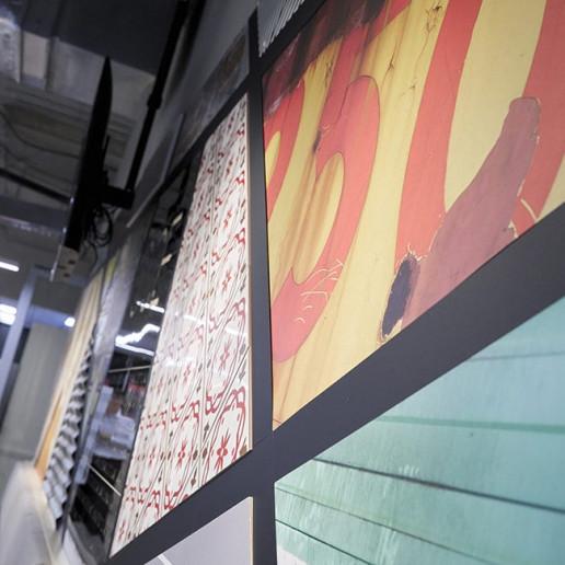 Océ CEC Display Wall Brand Strategy Marketing Campaign Brand Design
